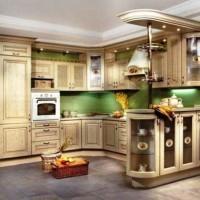 красивые кухни фото 15
