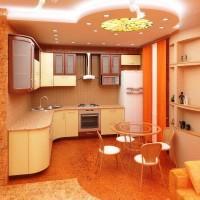 красивые кухни фото 6