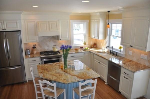 угловые кухни 10 м2 дизайн фото