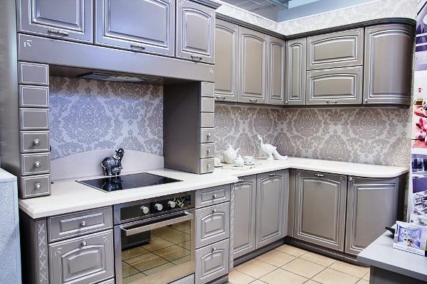 Кухни фото дизайн малогабаритные угловые классика