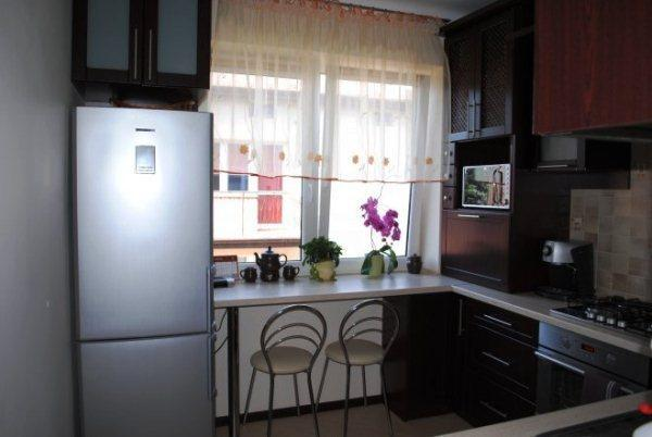 кухня 5.5 кв. м дизайн фото 13