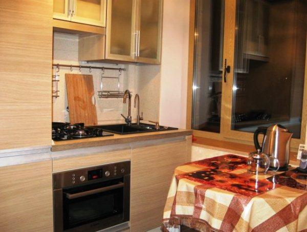 кухня 5.5 кв. м дизайн фото 14