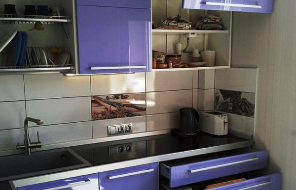 кухня 5. 5 кв. м дизайн фото 2