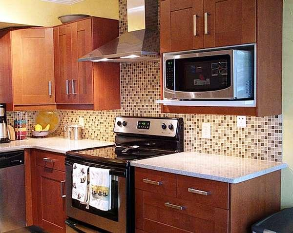 кухня 5. 5 кв. м дизайн фото 5