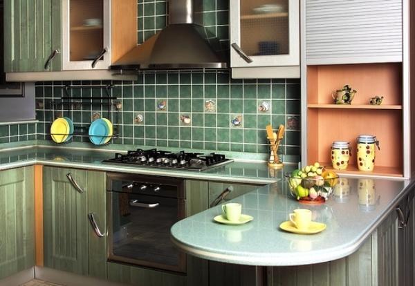 кухня 5. 5 кв. м дизайн фото 6