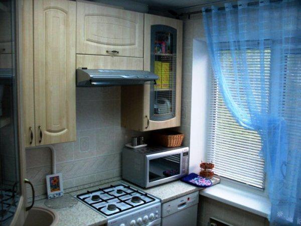 кухня 5. 5 кв. м дизайн фото 9