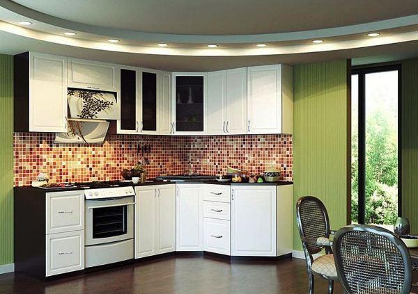 кухня гарнитур угловой фото 12