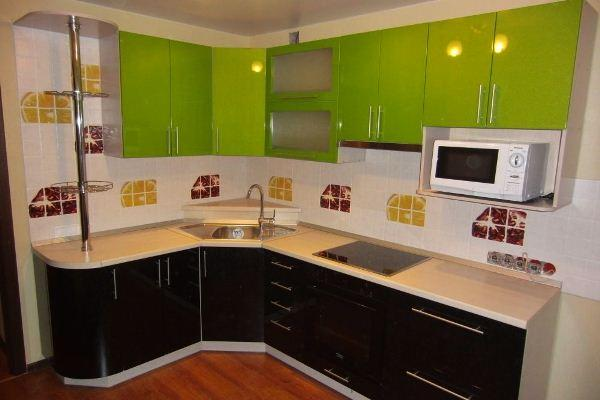кухня гарнитур угловой фото 13