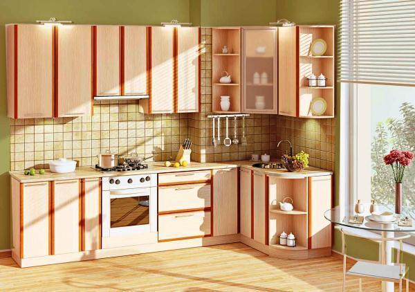 кухня гарнитур угловой фото 15