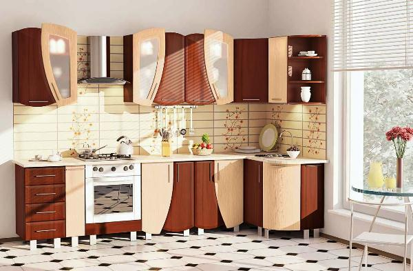 кухня гарнитур угловой фото 9