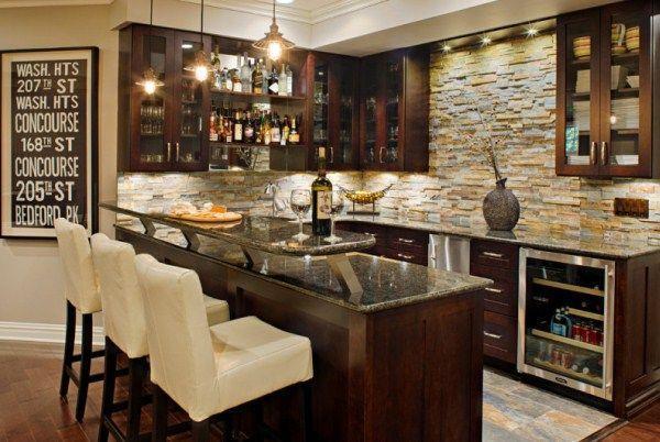 кухня студия с барной стойкой дизайн фото 11