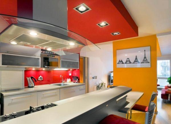 кухня студия с барной стойкой дизайн фото 4