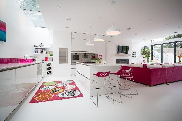 кухня студия с барной стойкой дизайн фото 6