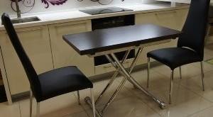 кухонный стол трансформер для маленькой кухни фото