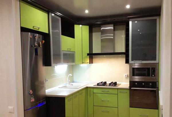 малогабаритные угловые кухни фото 11