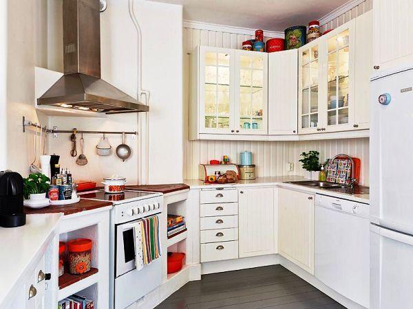 малогабаритные угловые кухни фото 3