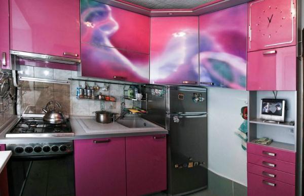 малогабаритные угловые кухни фото 5