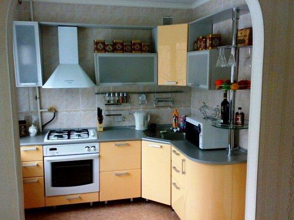 малогабаритные угловые кухни фото 6