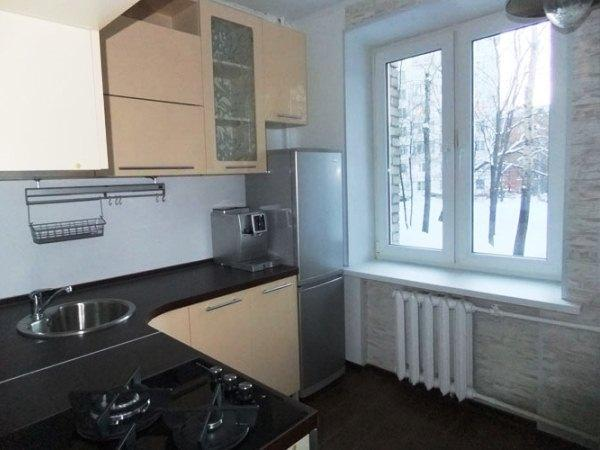 Планировка кухни в хрущевке 5 метров с холодильником, фото