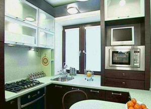 ремонт кухни в хрущевке варианты фото