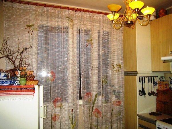 шторы для маленькой кухни фото новинки 2019
