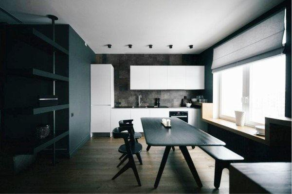 шторы на кухню фото 2019 современные в маленькую кухню фото 10