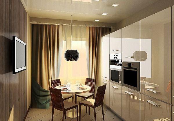 шторы на кухню фото 2019 современные в маленькую кухню фото 8