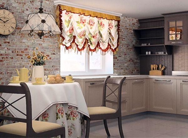 шторы на кухню фото 2019 современные в маленькую кухню фото 9