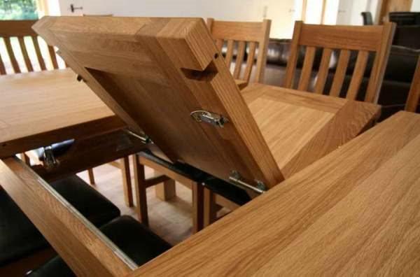 стол трансформер для кухни фото 3