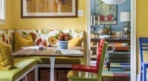 угловой диван на кухню фото и цены