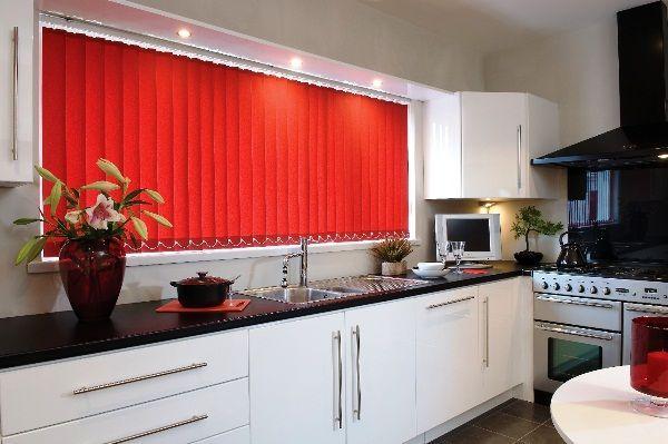 Жалюзи на пластиковые окна фото на кухне