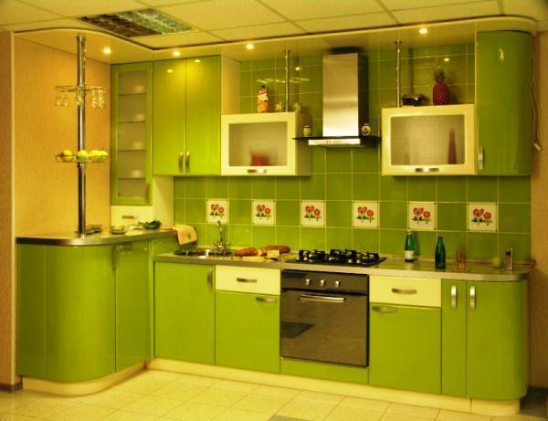 Дизайн угловой кухни 9 кв. м фото