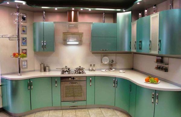 угловые кухни 9 кв м фото 5