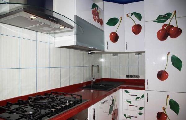 угловые кухни 9 кв м фото 6