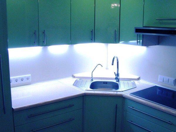 угловые кухни 9 кв м фото 7