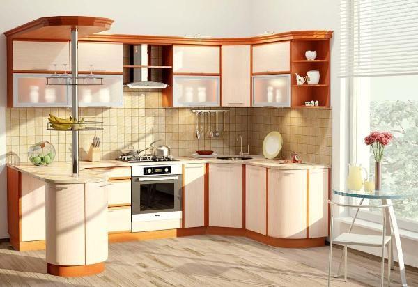 Угловые кухни на 9 кв. метрах фото