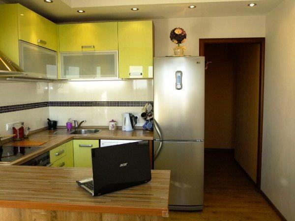 Дизайн кухни 9 кв. м фото в панельном доме