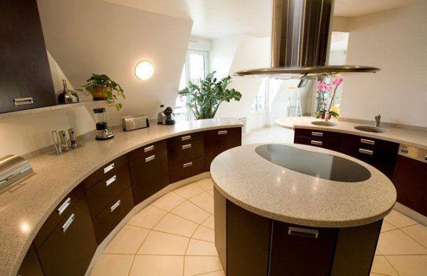 Как обставить кухню в частном доме фото
