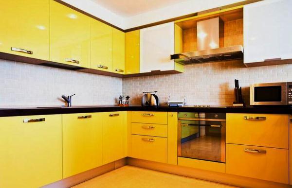 Кухня 9 кв. м в панельном доме фото 10