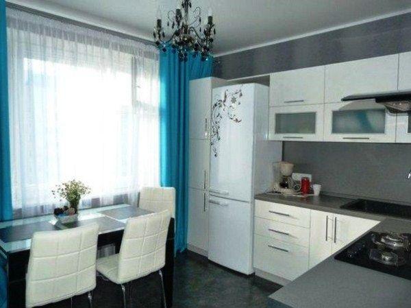 Кухня 9 кв. м в панельном доме фото 8