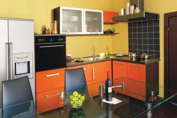 Кухня 9 кв м в панельном доме фото
