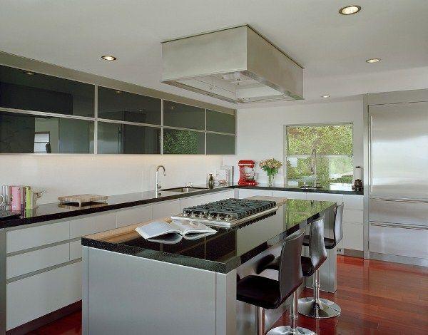 Обустройство кухни в частном доме фото