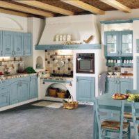кухня прованс фото 24
