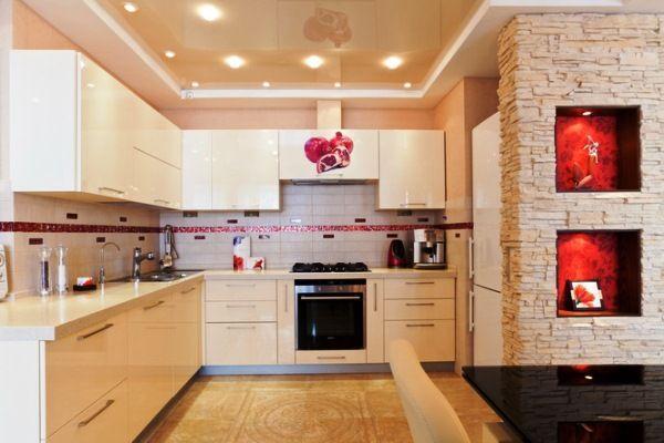 кухонный гарнитур в стиле хайтек фото