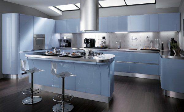 кухня хай тек кухня фото