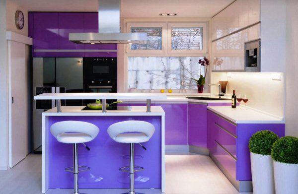 кухни в стиле хайтек фото для квартир