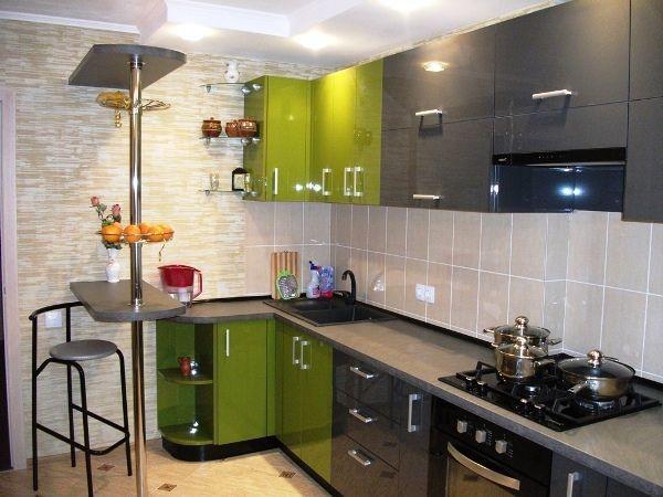 Мини кухни угловые фото