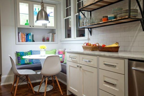 дизайн кухни 12 кв м с диваном фото 2