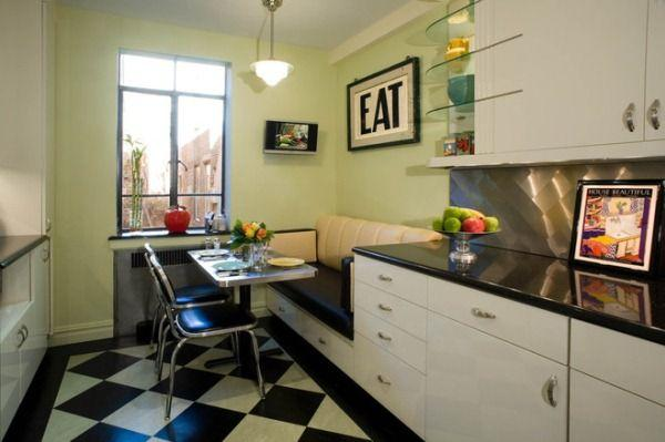 дизайн кухни 12 кв м с диваном фото 6