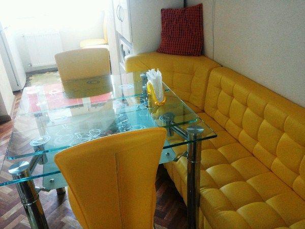 дизайн кухни 12 кв м с диваном фото 7